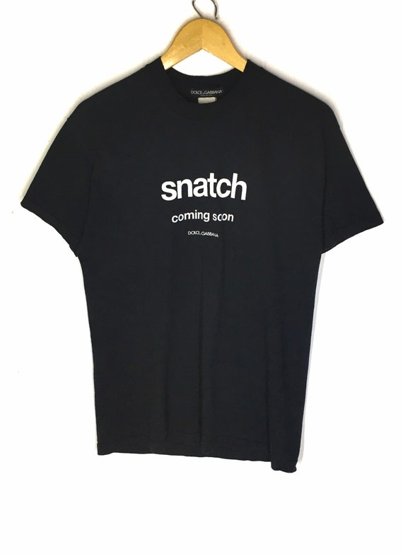 Rare Design Vintage Movie Snatch X Dolce And Gabba