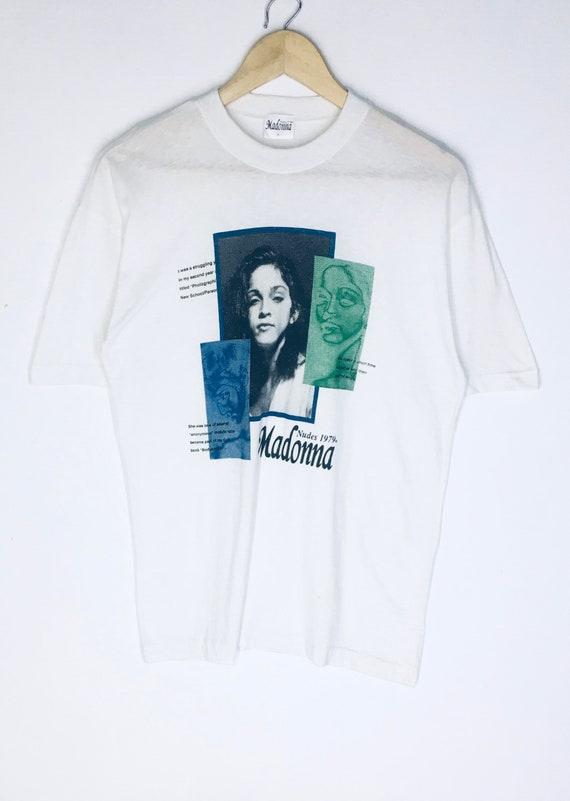 Rare Design Vintage Singer Madonna T-shirt 1990s