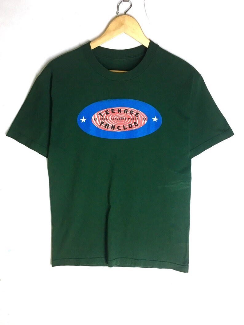 Rare Design Vintage Band Rock Teenage Fanclub T-shirt 1990s