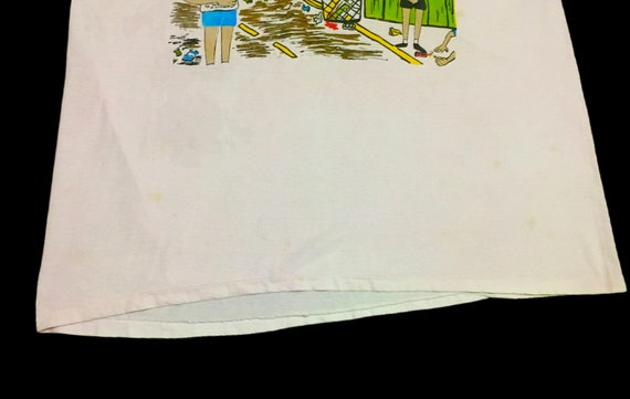 Rare Design Vintage Beavis And Butthead T-shirt 1… - image 6