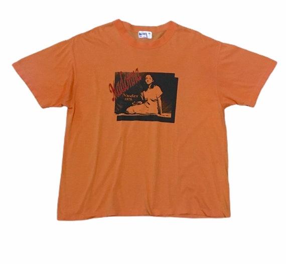 Rare Design Vintage Singer Madonna T-shirt 1980s