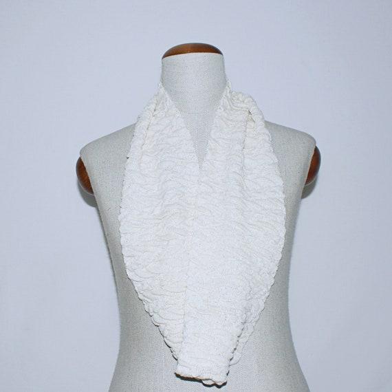 Bufanda infinita seda bufanda circular punto tricot bufanda | Etsy