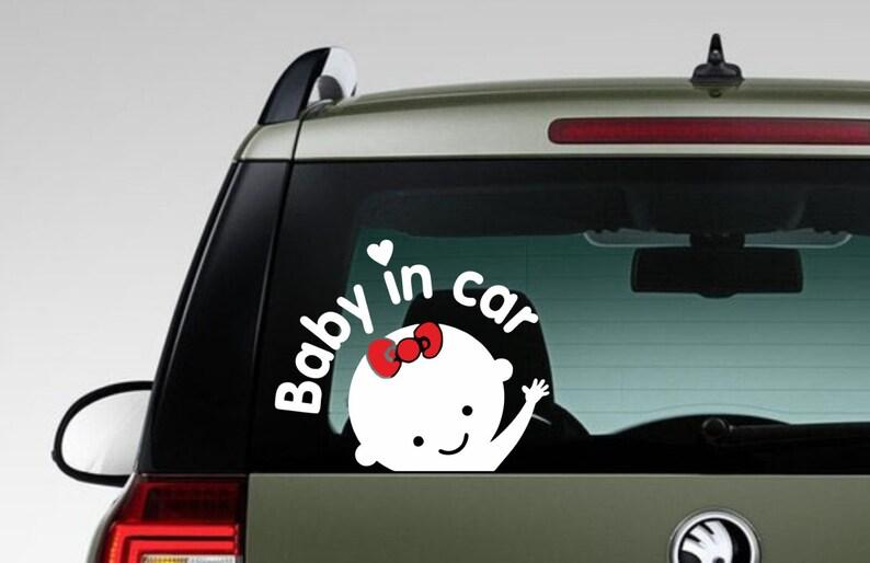 Baby Sith Darth Vader On Board Star Wars Die Cut Car Window Wall Decal Sticker