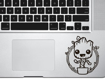Baby Groot Decal Sticker, Guardians of the Galaxy decal, vinyl decals, macbook decal, wall sticker, car decal, iphone decal, iphone sticker