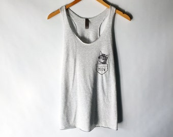 01846a26101789 Funny Cat Shirt Tank Top - Crazy Cat Lady - Cat Shirts - Kitten Shirt - Cat  Lover - Meow Shirt - Cat T Shirt - Tank Top - Gift For Cat Lover