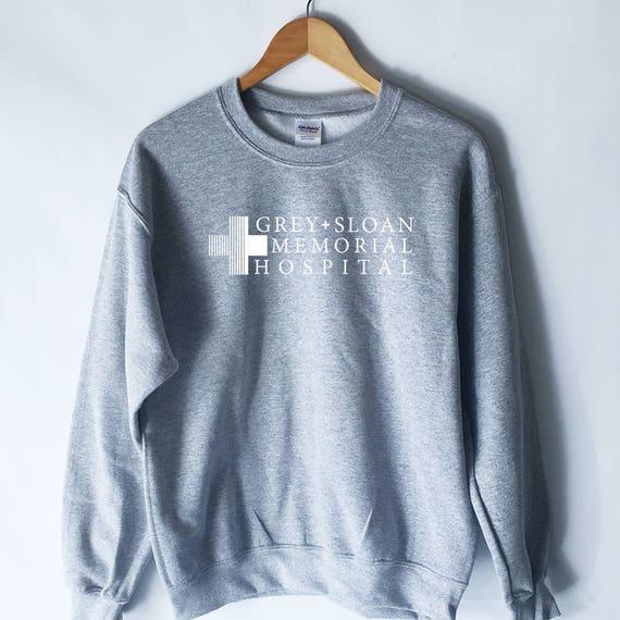 Camiseta gris Sloan Memorial Hospital camiseta anatomía de | Etsy
