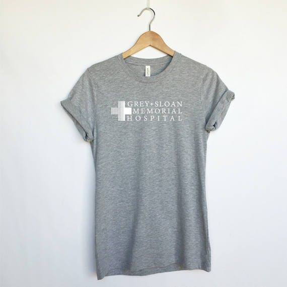 Grey Sloan Memorial Hospital T Shirt Greys Anatomy