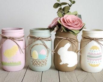 Spring Wedding Baby Shower Spring Mason Jars Home Decor Gift Ideas Spring Decor