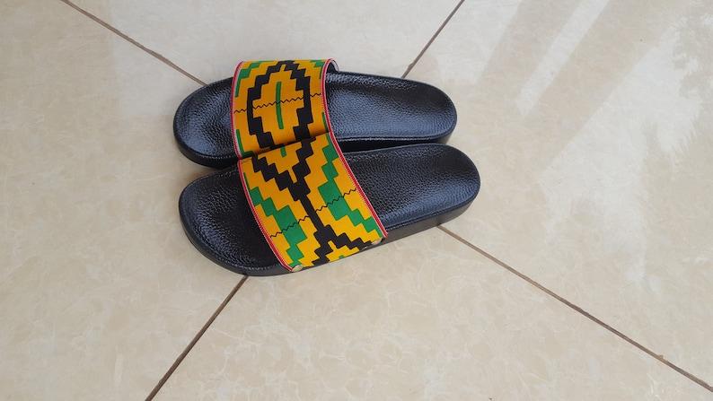 7b22996a2baf4 Unisex(Men/Women) Afro Design Sliders UK Sizes 5,6,7,8,9,10&11
