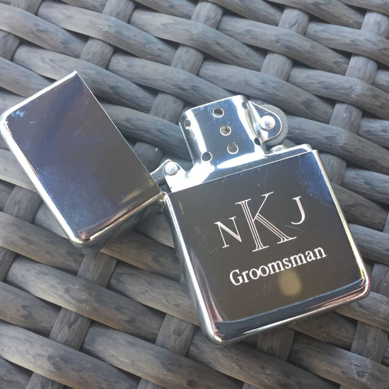 3d7f9602940b Fathers Day Gift. Personalized Lighter. Groomsmen Gifts.