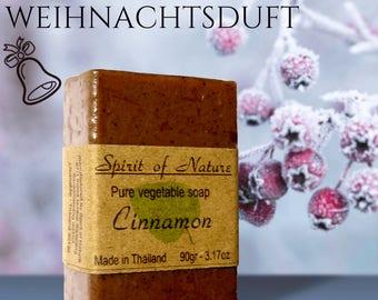 Christmas Soaps with cinnamon