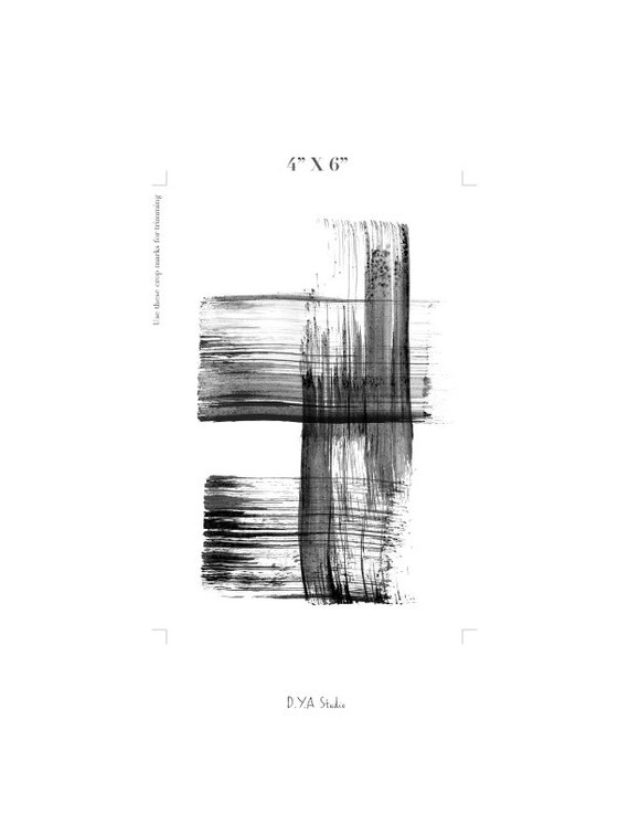 High Resolution Abstract Art Black And White