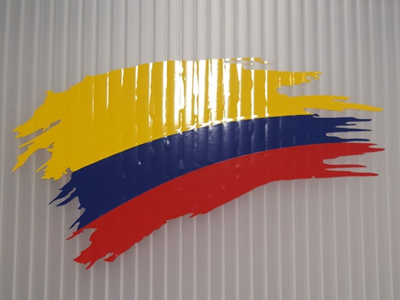 COLOMBIAN PRIDE decal Country Pride vinyl sticker all size /& colors FAST Ship!