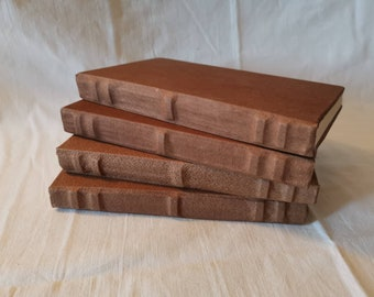Brown Medieval Leather Book