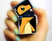 Lighter, Charmander pokemon lighter, Pokemon lighter, Cigarette Lighter with windproof electronic quartz ignition