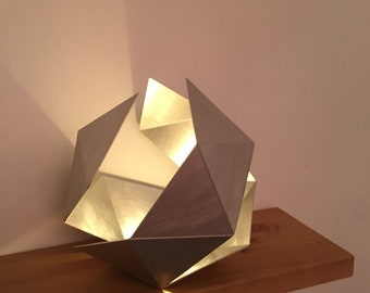 Open Icosahedron | Tea light holder | Sculpture | Art