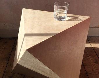 Octahedron Table | mathematical object | unusual side table