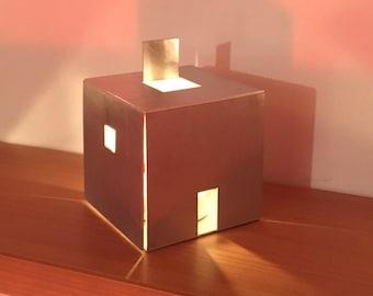 Cube House | Tea light holder | Abstract lantern