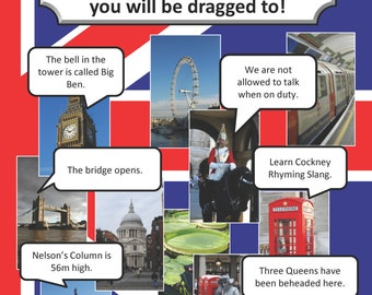 Amazing London: A guide to the amazing places you will be dragged to!