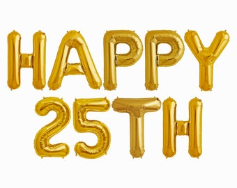 25th Birthday Prop