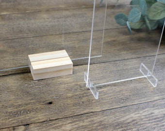 Incredible Table Number Holders Etsy Home Interior And Landscaping Pimpapssignezvosmurscom