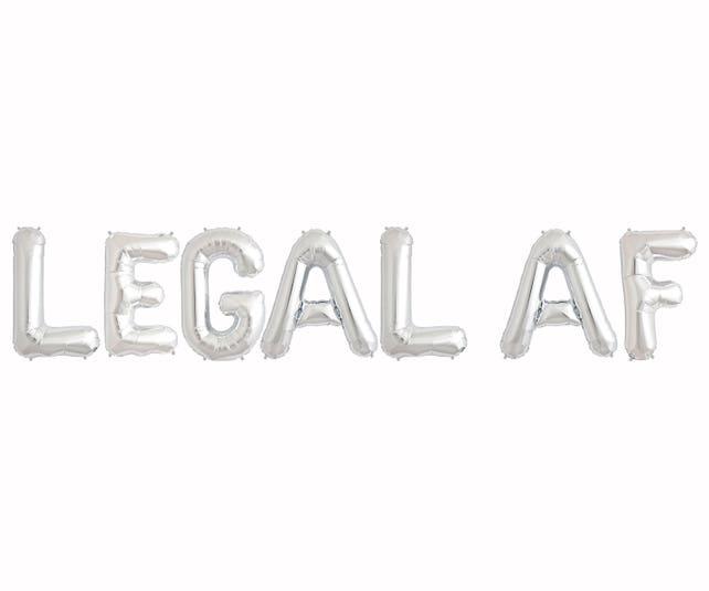 Legal AF Balloons
