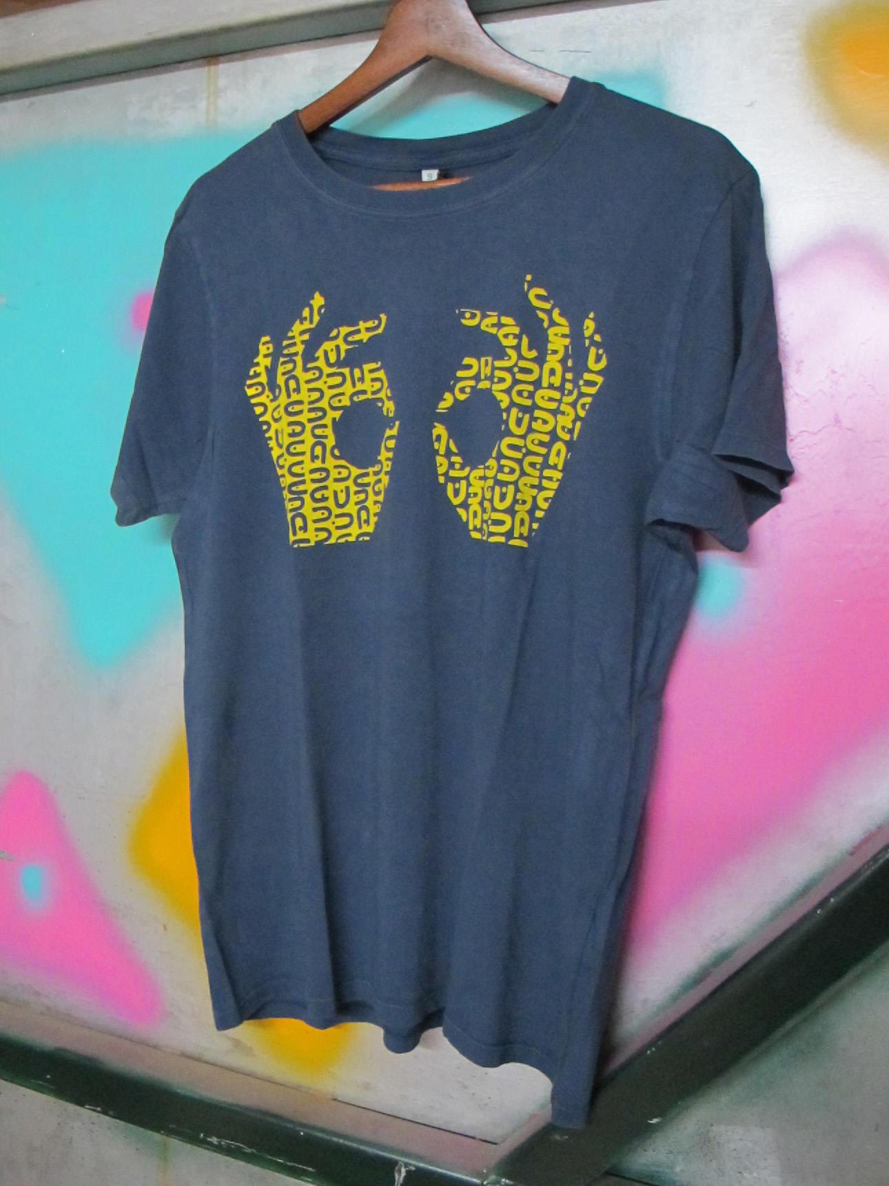 Imprimé en sérigraphie OK T-shirt OK sérigraphie par Anna Bird 7df656 a050b27368b