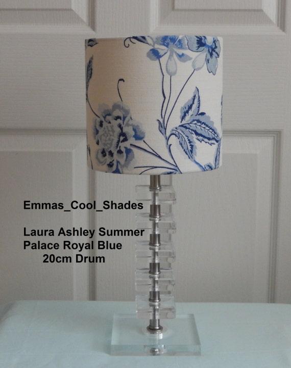 Lampshade Handmade with Laura Ashley Aviary Garden Apple Wallpaper