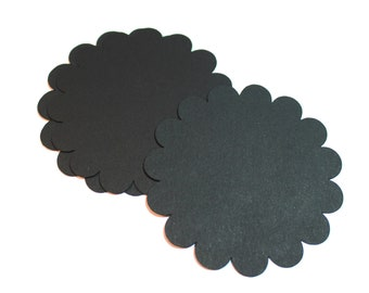 Scalloped Circles Set of 40