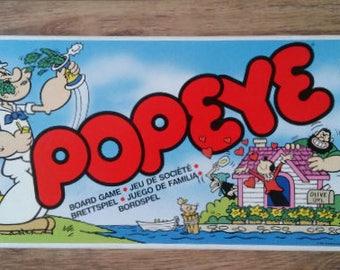 Vintage boardgame Popeye eighties Olive