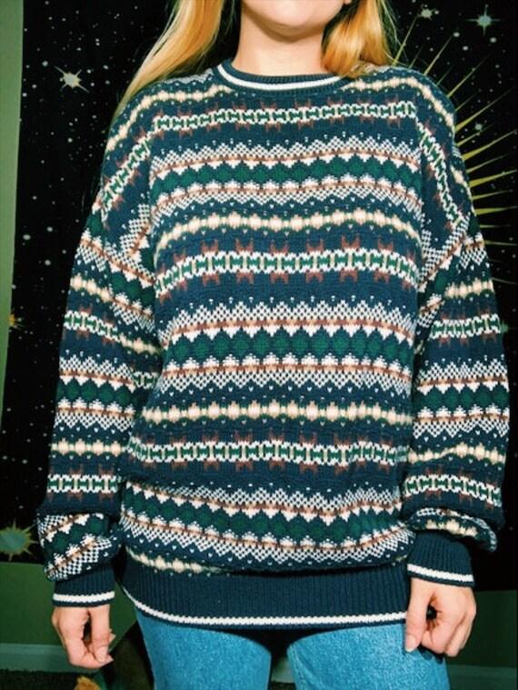 Maglia vintage degli anni   90 Jantzen grosso papà      8fc77add32d2