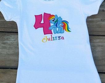 e63af90f My little pony birthday shirt, my little pony, birthday shirt, personalized birthday  shirt, custom birthday shirt, my little pony shirt