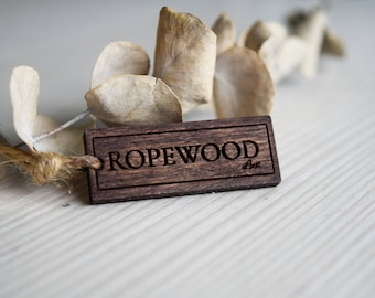 Bulk wooden tags | Etsy