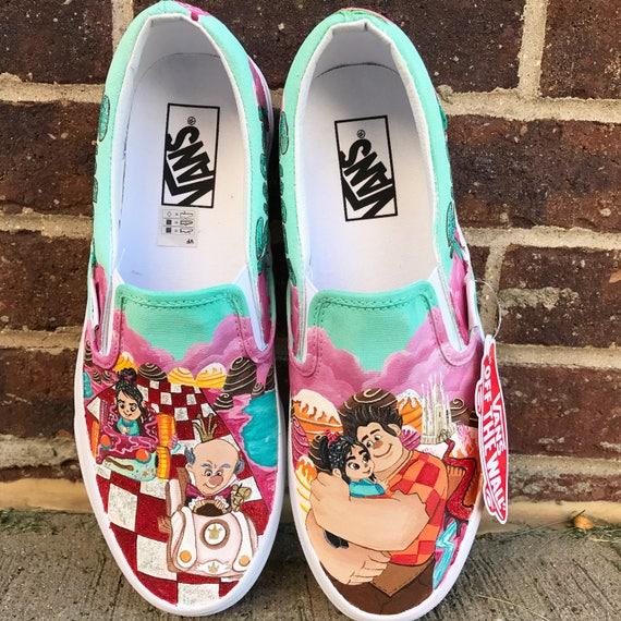 Il l'épave Ralph chaussures peintes | | | Qualité Fiable  628ef3