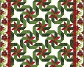 Gift Wrapped - pieced quilt pattern in 3 sizes plus table runner placemats