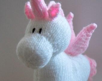 Unicorn Knitting Pattern, Stardust Unicorn Knit Pattern Unicorn Knit Pattern, Unicorn Toy Knitting Pattern, Soft Toy Knitting Pattern