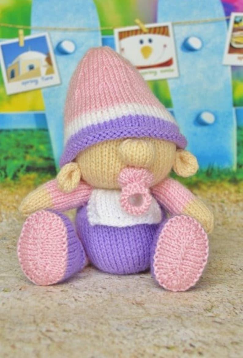 105cb3dd927 Baby Garden Gnome Knitting Pattern Baby Gnome Knitting