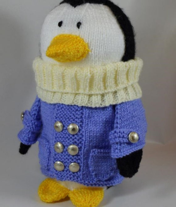Pinguin-Spielzeug-Strickmuster Pinguin stricken Reisen | Etsy