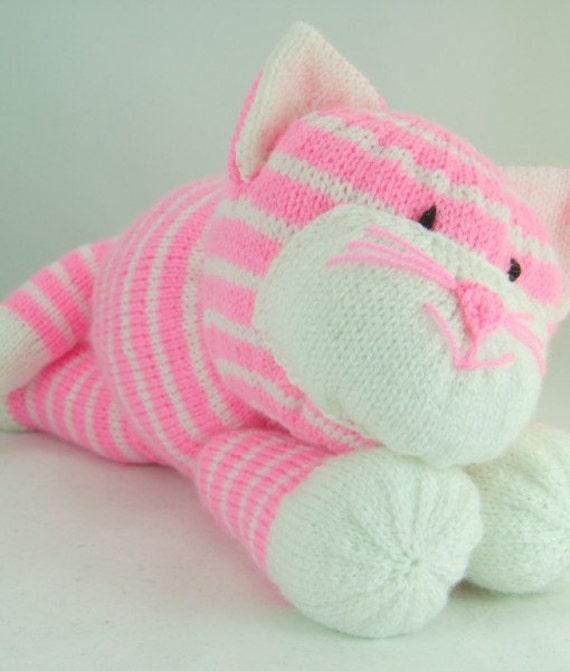 Das Katzenspielzeug Stricken Muster Katze Strickmuster | Etsy