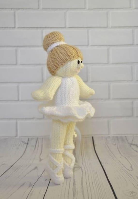 Ballerina-Strickmuster Ballerina Puppe Strickmuster | Etsy