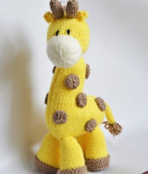 Punto de jirafa jirafa punto jirafa juguete tejer patrón | Etsy