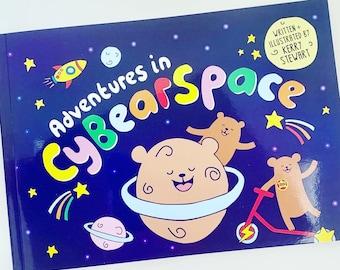 Children's book - Adventures in CyBearSpace
