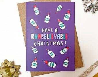 Rum Christmas Card