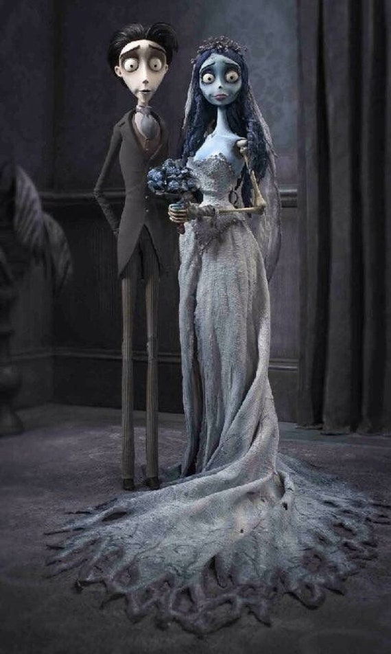 CORPSE BRIDE cosplay costume Pre,order! Free Shipping! (INSPIRED Corpse  Bride, Tim Burton, cosplay, Halloween, bride dress, cosplay costume)