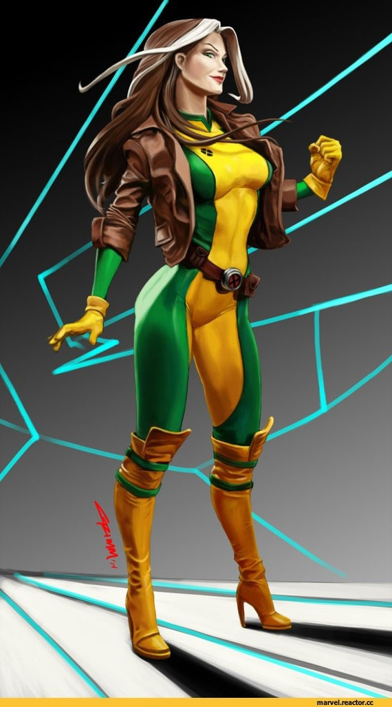 Rogue Cosplay Costume Pre Order Inspired X Men Rogue X Men Cosplay Rogue Cosplay Cosplay Cosplay Costume Comics