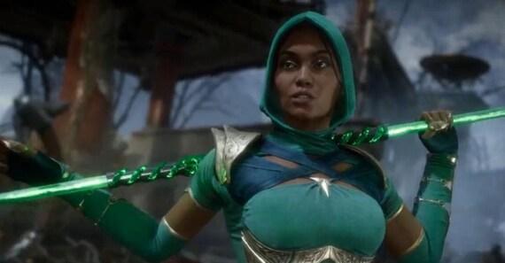 Jade Cosplay Costume Pre Order Inspired Mortal Kombat 11 Etsy