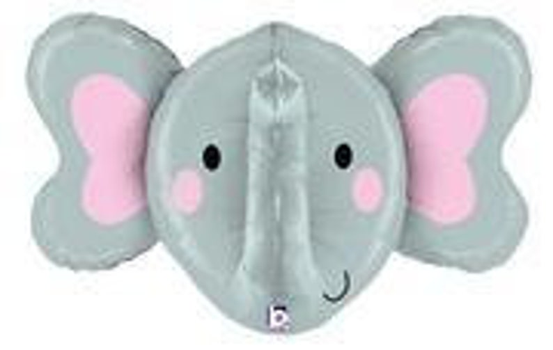 Elephant head Jumbo Foil Balloon S4030