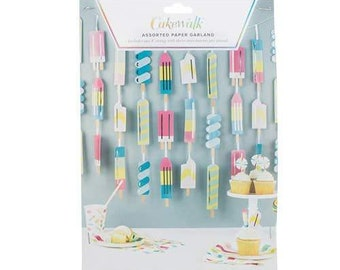 Popsicle Party Garland S0008