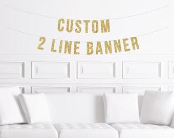 custom banner birthday