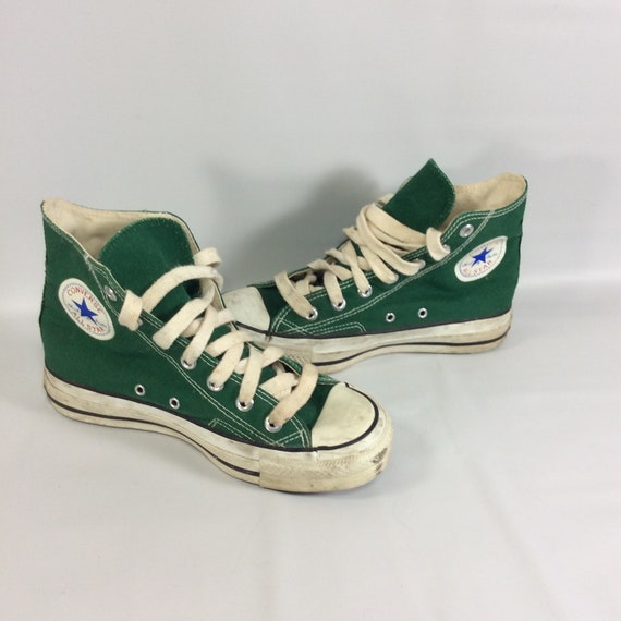 Hauts M Vintage Taylor 6Etsy Converse Hi Chaussures Chuck Taille 4 gyIY6vmfb7